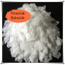 Industrial white KOH potassium hydroxide buy fron China