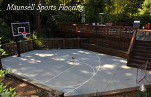 Anti-slip comfortable used basketball flooring for sale