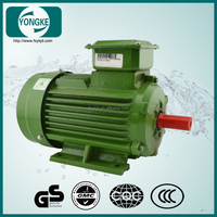 Energy saving 4pole 5.5kw squirrel-cage three phase ac electric motor 7.5hp