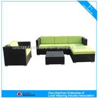 CF830 modern fashion garden furniture rattan sofa