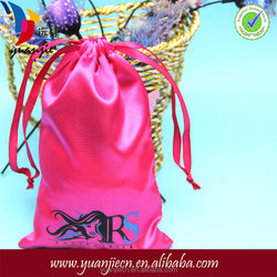 High Quality Custom Satin Bags,Hair Extension Bags,silk Satin Bags