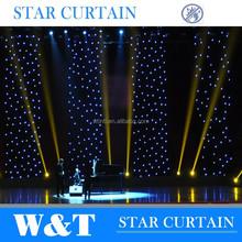 W&T LED Vision Cloth / Led Star backdrop 12X3m, white color