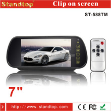 Cheap 7 inch touch screen monitor for rearview mirror monitor
