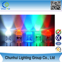 Super bright 3mm 5mm Led light emitting diode manufacturer