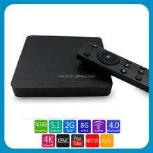 64bits octa core- RK3368, google android 5.1 smart tv box, AP6335 wifi ac, KODI preinstalled