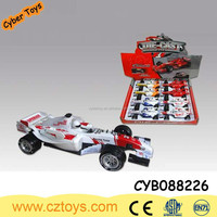 1:32 high simulation diecast metal F1 racing car model pull back Car with sound
