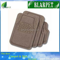 Super quality branded car floor mat factory with logo
