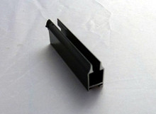 Aluminum glass hinge clamps for door or curtain wall