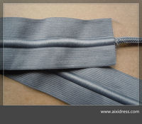 Woven Elastic Band With Drawstring/elastic waistband with build in drawcord for sports