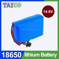 18650 6600mAh Rechargeable Lithium Battery Pack 14.8V For Forklift