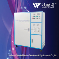 Wortel type QX- 300 L/H Hospital Drug manufacturing room rinsing & disinfection ultrapure water water purifying equipment