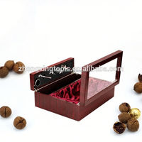 Newly Custom Fancy Round Tube Paper Cardboard Wine Gift Boxes Wholesale