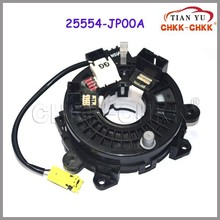 Auto Parts clock spring Airbag coil For Japanese Car sprial cable sub-assy clock spring 25554-JP00A