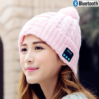 Wireless Bluetooth Beanie Knitted Winter Hat headset Hands-free Music Mp3 Speaker Hat Magic Sport Hats for Boy & Girl & Adults