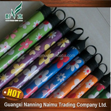 eco-fridenly hotel/garden/home cleaning tool pvc coated wood broom stick