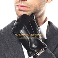 ELMA Luxury Men's Touchscreen/texting Winter Italian Nappa Leather Glove
