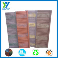 Sand coated leakproof roofing sheet/Villa metal roofing tile