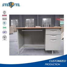 Cheap used furniture modern office desk office table design computer desk with lockable drawers