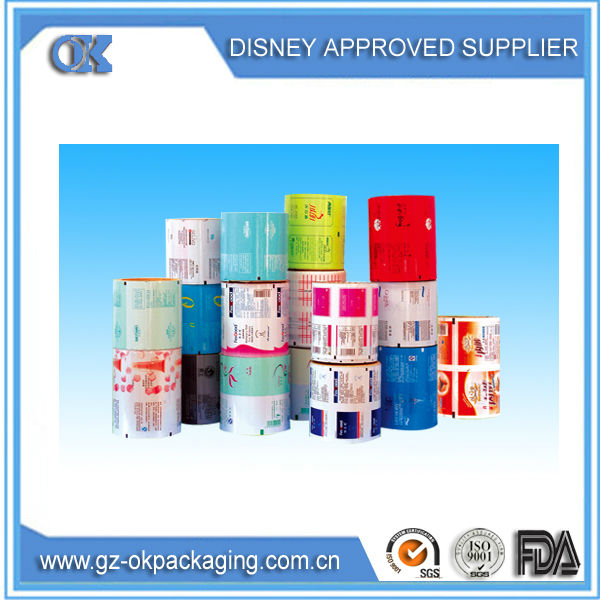 2014 alibaba low price professional food packaging Film Roll,industrial film roll