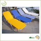 2015 cadeira nova venda quente praia sala de estar / cor múltipla dobrar para trás praia cama cama / sol, sol de alumínio espreg