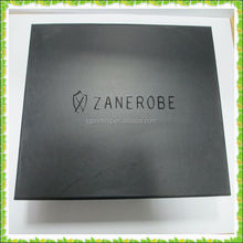 Full Black Own Logo Printing Paper Box with Magnet