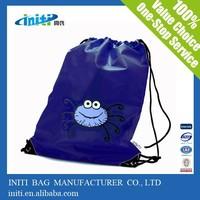 Promotional nylon mesh drawstring bags as packing bag