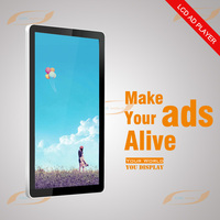 42 inch indoor wall mount LCD advertising display monitor