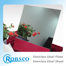 Exporting competitive price of 321/317 good quality black mirror finish stainless steel sheets