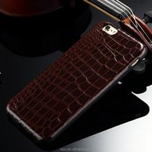 Imitated Crocodil Skin TPU leather case for iphone6 skin cover