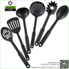 Personalized 6 PCS Black Nylon Kitchen Utensils and Appliances