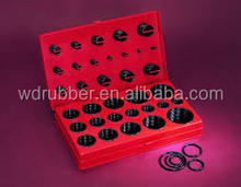 Professional manufacturer of 382pc,386pc,404pc,407pc,419pcs and other popular sizes o ring kit