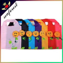 high quality polyester guangzhou foldable shopping bag