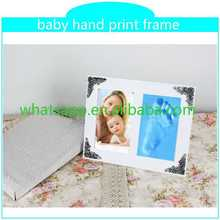 best selling handprint and footprint kit with frame funny wood photo frame bulk photo frames