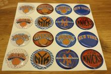 CUSTOM NBA NEW YORK KNICKS Epoxy Sticker