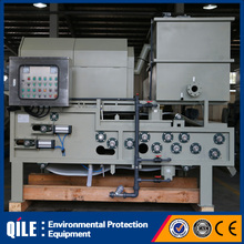 Chemical water treatment filter belt type sludge dewatering machine