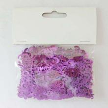 2015 New Product Purple Paper Wedding confetti/Letter Shape Paper Confetti