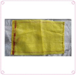 40x60cm - Around 15 gr/pcs. 50x80cm - Around 20 gr/pcs mesh bags