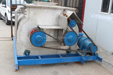 High performance double shaft paddle mixer of rabbit feed machine/Twin shaft forced mixer
