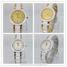 Belonni collection watch of alloy case ceramic band with many design