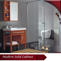 HS-G13153 cheap modern free standing solid wood bathroom cabinet india