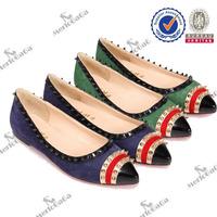 2014 hot sale new design latin dance shoes grass green