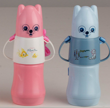 feeding bottle with glass liner