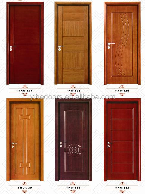Bedroom door design mdf solid oak wood simple solid teak for Bedroom entrance door designs