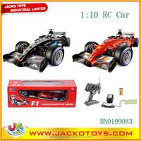 1:10 scale 4CH remote control formula car RC F1 car