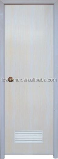 P002 cheap pvc plastic bathroom door for Cheap pvc door