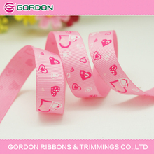 2014 hot sale Mix Designs of Love Heart Gift Decorative Ribbon