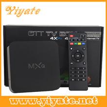 Yiyate MXQ XBMC(KODI)Quad core android tv box full hd media player 1080p