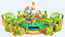 kids carnival amusement park equipment carnival of candy tree rides for sale