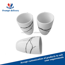 2015 hot-selling porcelain coffee cup no handle, FDA, LFGB, CA65,84/500/EEC approved