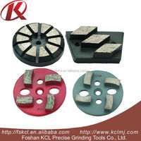 hot selling Diamond concrete grinding pads used for highway maintenance